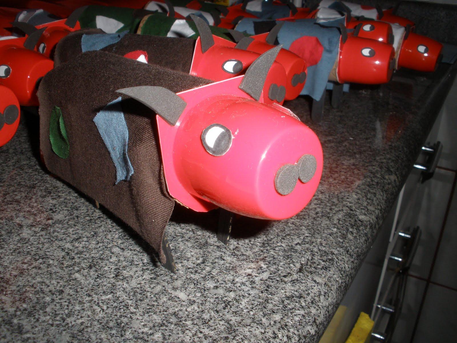 Suficiente Reciclagem: Modelo de Lembrancinha para o Dia do Folclore – Mula  NS68